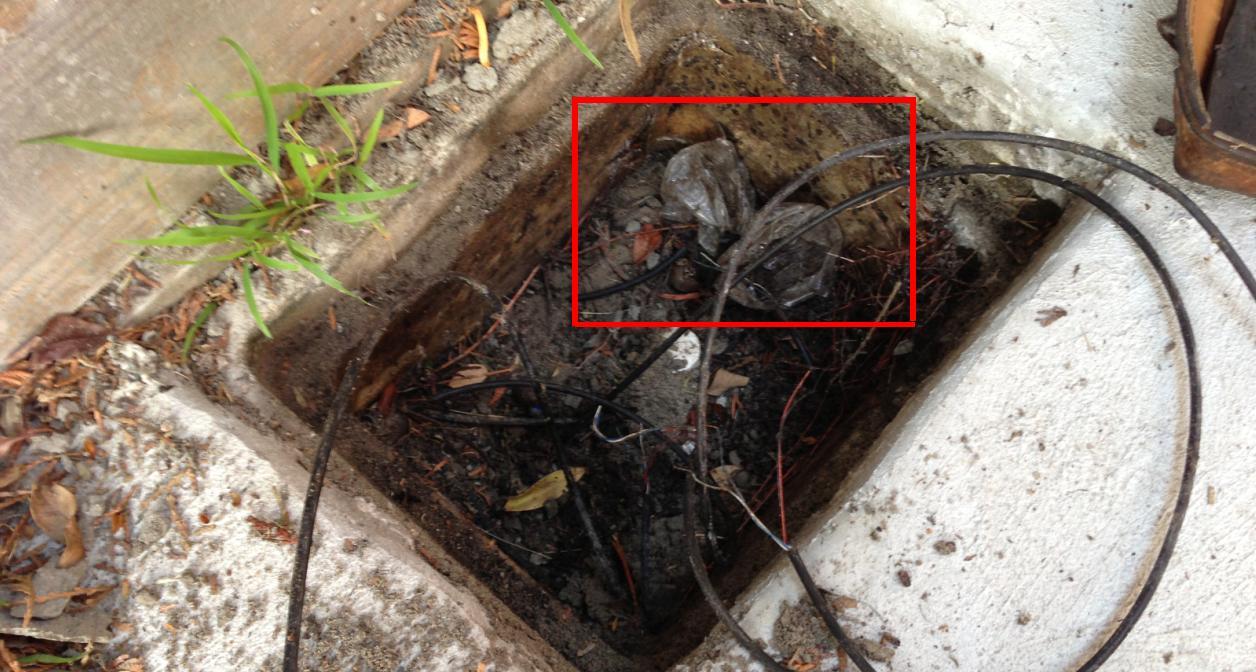 adsl damaged cable