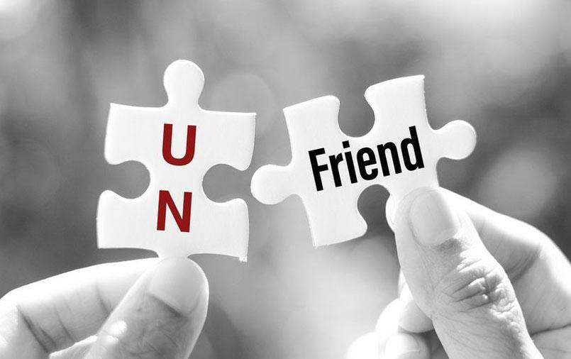 Unfriend puzzle