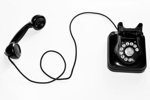 rotary phone active phone line